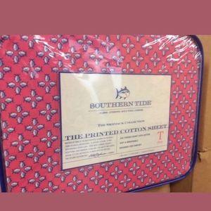New Southern Tide Twin size sheet set Pink